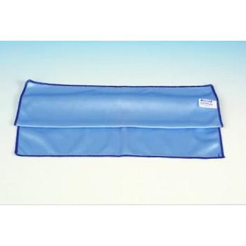 chiffon microfibre vitre bleu 40x40 228213