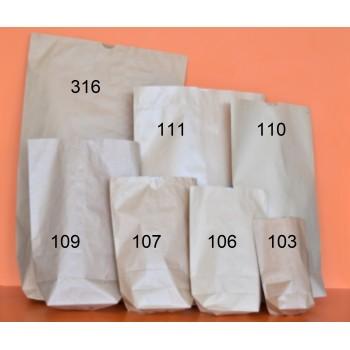 cornet papier brun doublé 103