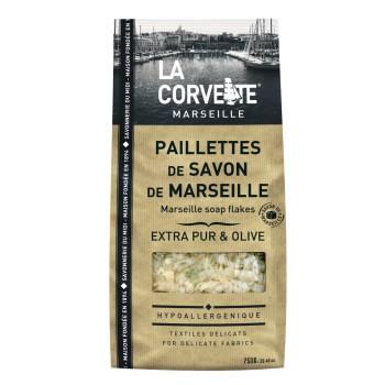 savon de Marseille copeaux La Corvette Ecocert